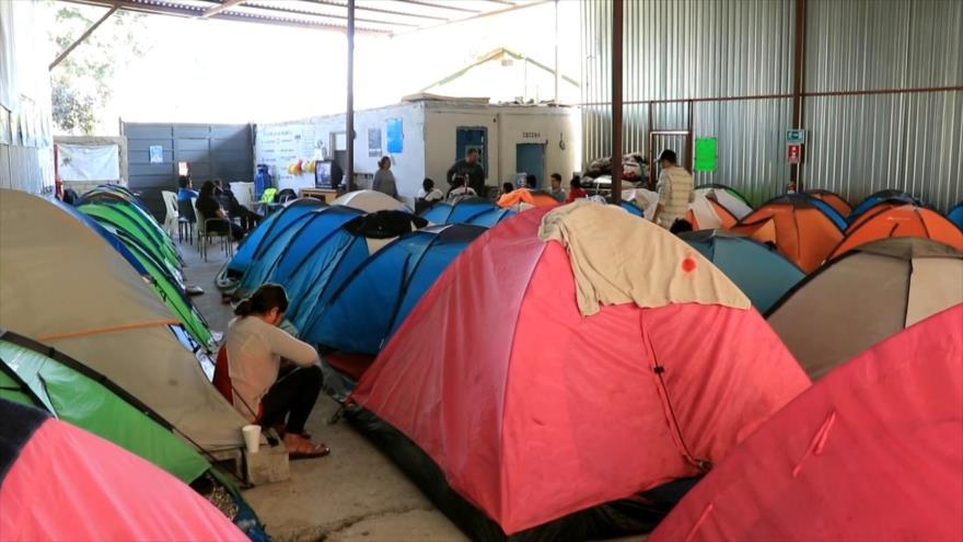 Albergues para migrantes en México están a su máxima capacidad