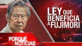 El Porqué de las Noticias: Discurso de Nasralá. Unionismo en España. Ley beneficia a Fujimori
