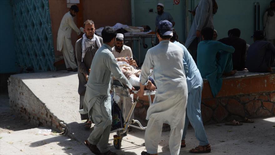 Atentado deja 12 muertos en un mitin electoral en Afganistán
