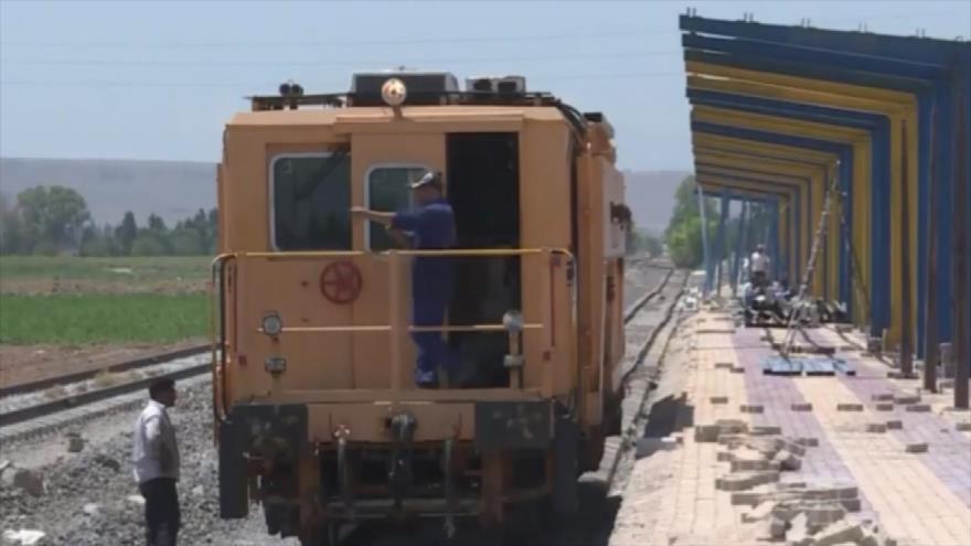 Gobierno sirio reconstruye la red ferrovial del país