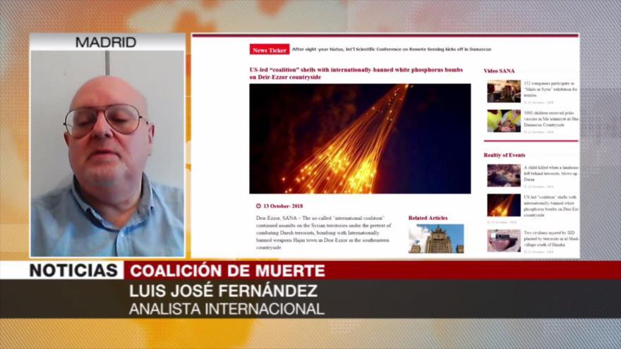 Fernández: EEUU y sus socios apoyan a los terroristas en Siria