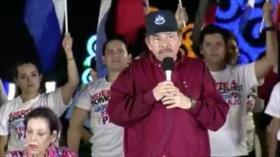 Daniel Ortega se compromete a garantizar la paz en Nicaragua