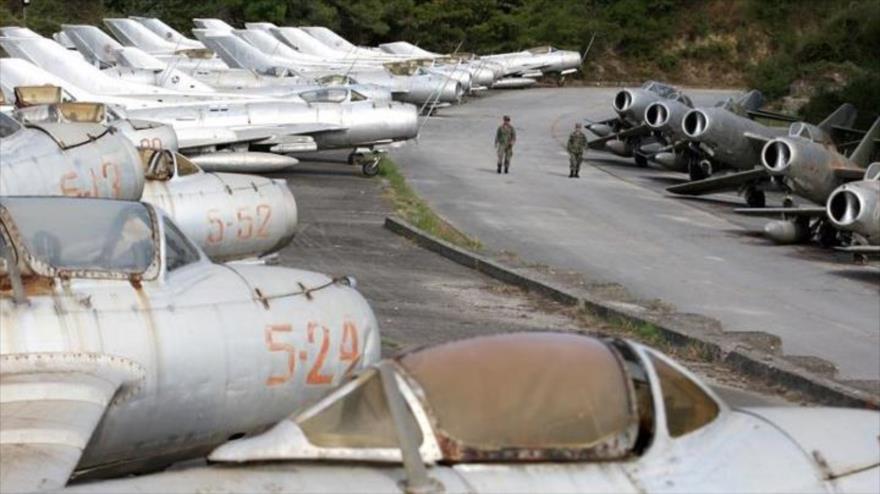Base aérea de la OTAN en Albania encarará la influencia de Rusia y China