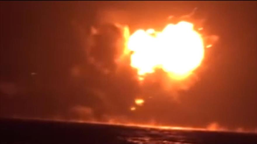 Vídeo: Momento del ataque de fuerzas yemeníes contra un barco emiratí