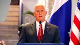 Panameños rechazan declaraciones injerencistas de Mike Pence