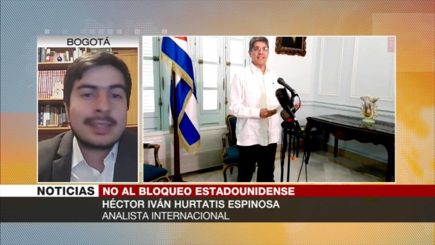 Espinosa: EEUU viola orden mundial con bloqueo a Cuba