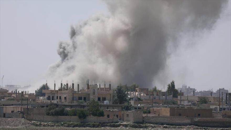 Amnistía condena a 'coalición' por la matanza de civiles en Al-Raqa