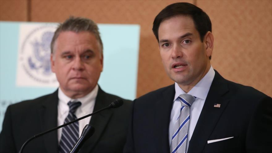 """Rubio avisa de la pérdida de """"credibilidad moral"""" de EEUU"""