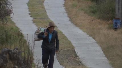 Pobreza ataca a la población en Oaxaca (México)