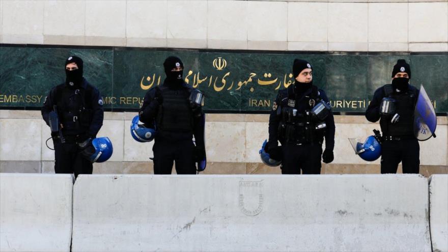 Irán desmiente que su embajada en Turquía haya sufrido un atentado