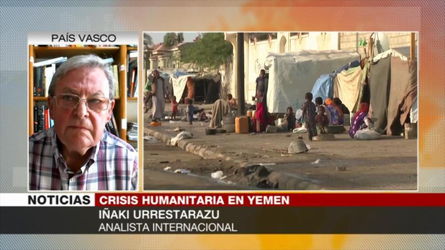 Urrestarazu: EEUU y sus aliados, responsables de genocidio en Yemen