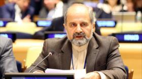 """Irán pide ante la ONU rechazo unánime al """"unilateralismo"""" de EEUU"""
