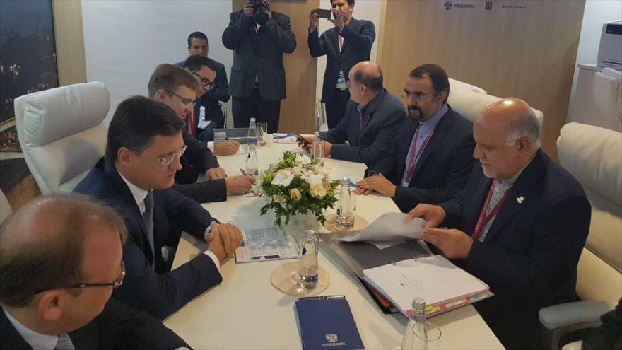 Irán y Rusia elaboran cooperaciones contra sanciones de EEUU
