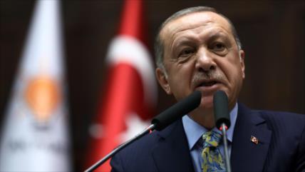 Erdogan: material recogido en consulado saudí estaba repintado