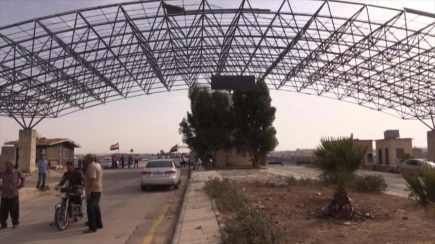 Siria reabre su paso fronterizo con Jordania