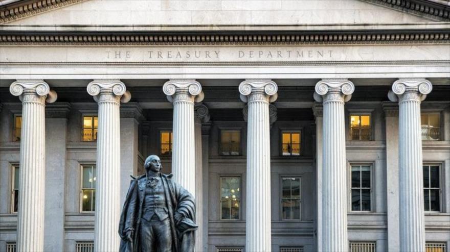 El edificio del Departamento del Tesoro de EE.UU. en Washington.