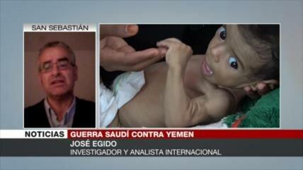 Egido: Occidente cierra los ojos ante crímenes de Riad en Yemen