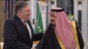 Pompeo agradece a rey saudí 'apoyo' para investigar caso Jashoggi