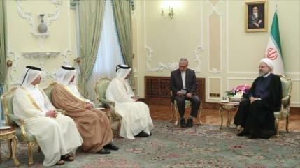 Irán pide seguridad y paz para la sensible región del Golfo Pérsico