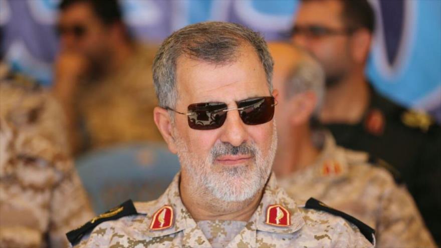 El comandante de la Fuerza Terrestre del Cuerpo de Guardianes de la Revolución Islámica (CGRI) de Irán, el general de brigada Mohamad Pakpur.