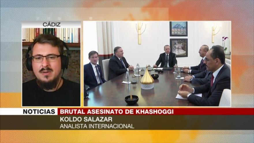 Koldo Salazar: Arabia Saudí es un régimen psicópata y asesino