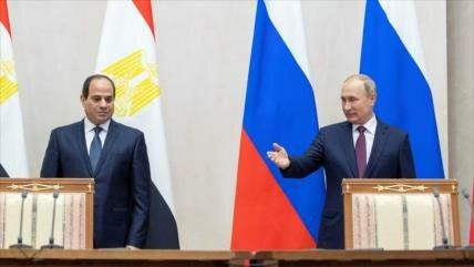 Putin y Al-Sisi optan por determinar el estatus de Al-Quds