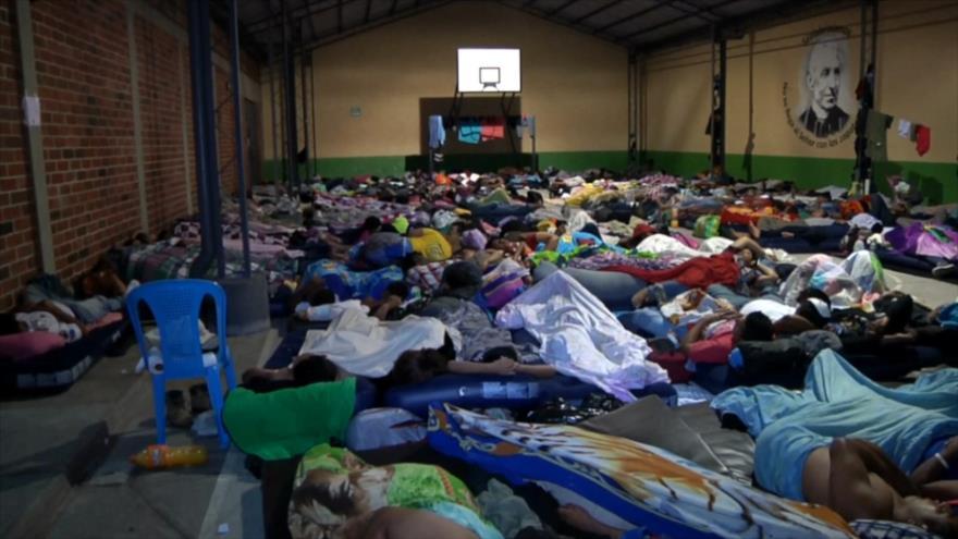 Guatemala acoge al mayor éxodo en la historia de Centroamérica