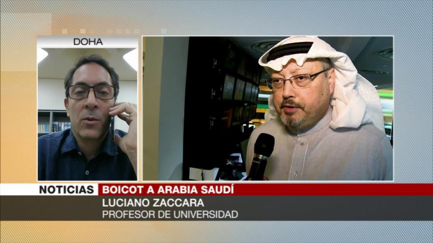 Zaccara: Nadie castiga a Riad por Yemen, tampoco por Jashoggi