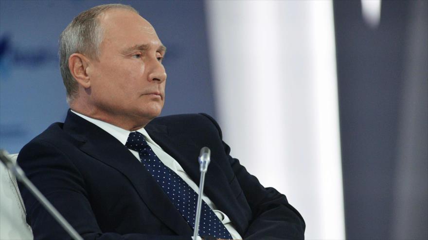 Putin: Daesh se fortalece en partes controladas por EEUU en Siria