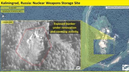 Fotos: Rusia actualiza sitios de armas nucleares en Kaliningrado