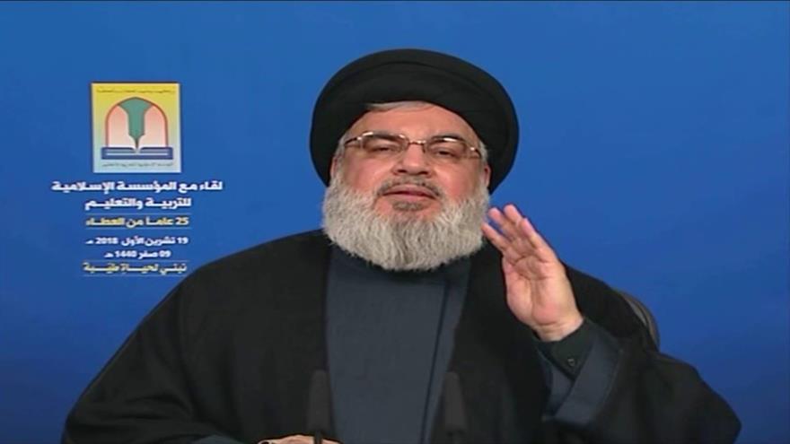 Hezbolá culpa a EEUU y Arabia Saudí de crisis en Oriente Medio