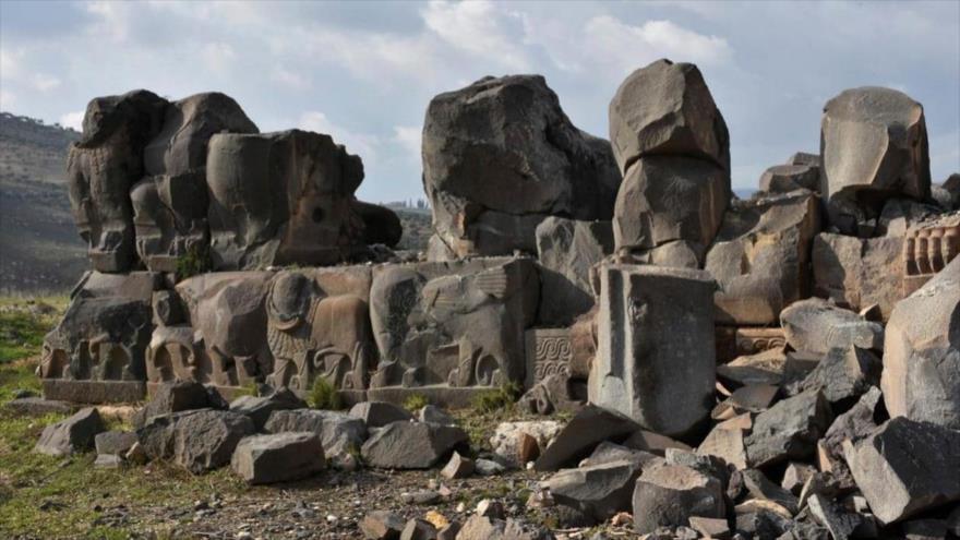 Siria critica a EEUU, Francia y Turquía por robar piezas arqueológicas