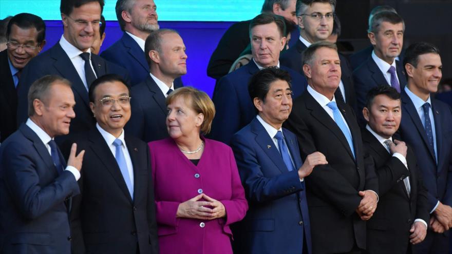"""UE y Asia consideran """"esencial"""" levantamiento de sanciones a Irán"""