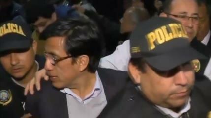 Hinostroza, prófugo exjuez peruano es encarcelado en España