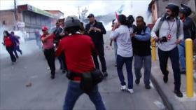 HispanTV niega vínculo con organización de protestas en Honduras