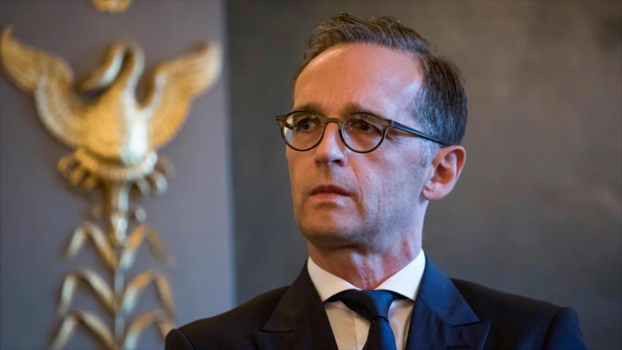 El ministro de Relaciones Exteriores de Alemania, Heiko Maas, París, 16 de octubre de 2018. (Fuente: AFP).