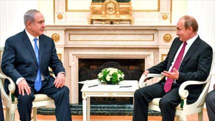 Informes: Putin no está interesado en reunirse con Netanyahu