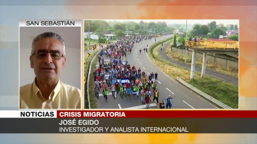 Egido: Golpe dado por Obama en Honduras provocó crisis migratoria