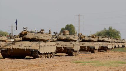 Israel envía tanques a frontera libanesa ante una posible guerra