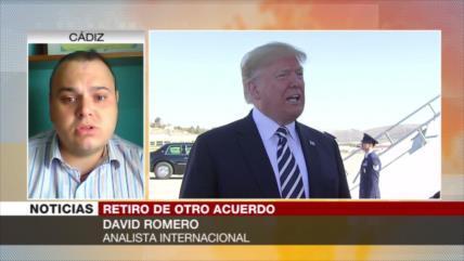 Romero: Salida de EEUU de los acuerdos acabaría con su hegemonía