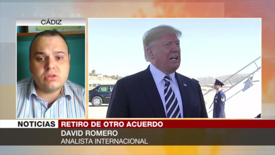 Romero: Salida de EEUU de los pactos acabaría con su hegemonía mundial
