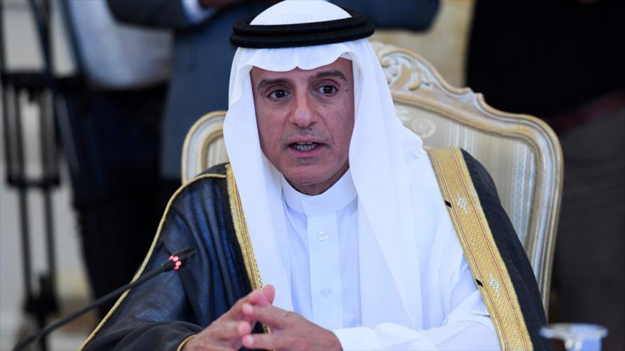 El canciller saudí, Adel al-Yubeir, 29 de agosto de 2018. (Foto: AFP)