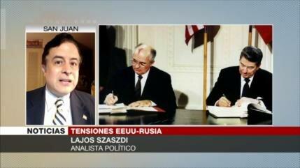 'Rusia ve amenazada su seguridad con retirada de EEUU de INF'