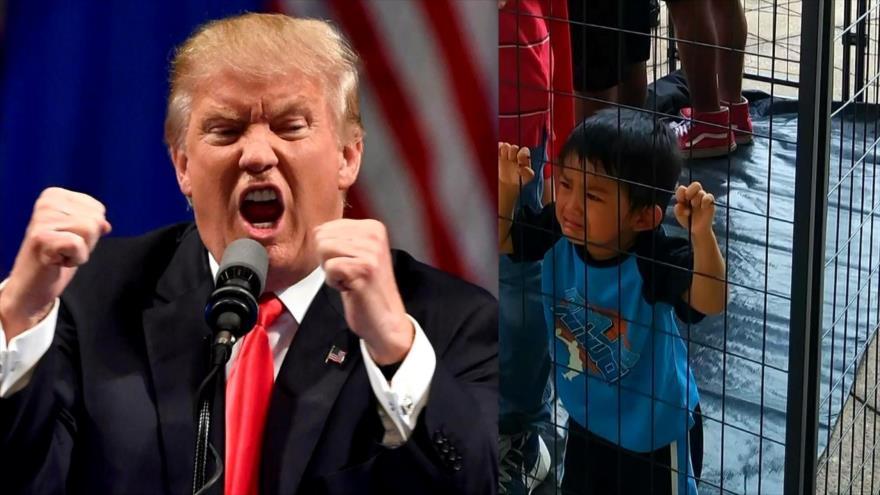 Donald Trump, en guerra contra niños y familias inocentes