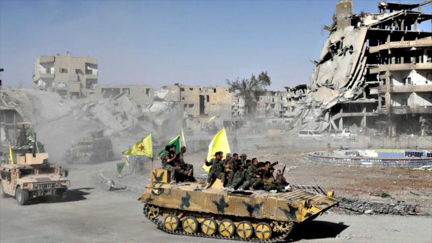 Siria denuncia genocidio de coalición occidental en Al-Raqa