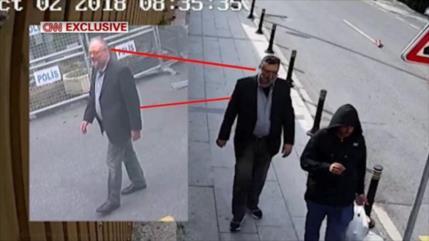 Cámaras captan a doble de Khashoggi saliendo de consulado saudí