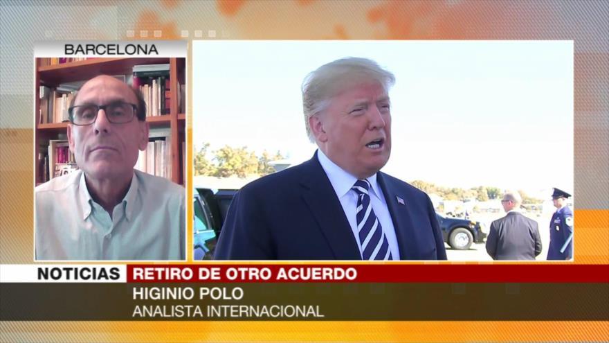 Polo: Salida de EEUU de Tratado INF incrementará tensiones mundiales