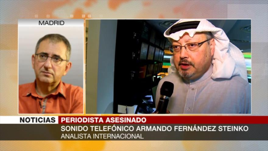 """Steinko: Monarquía saudí no saldrá """"sin coste"""" del caso Khashoggi"""