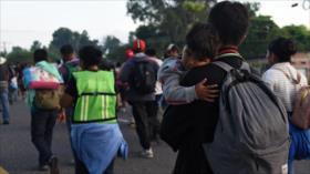Caravana de migrantes avanza hacia EEUU, pese a amenazas de Trump