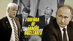 Detrás de la Razón: Nueva guerra nuclear: EEUU amenaza a Rusia y China, Trump le rompe el pacto a Putin